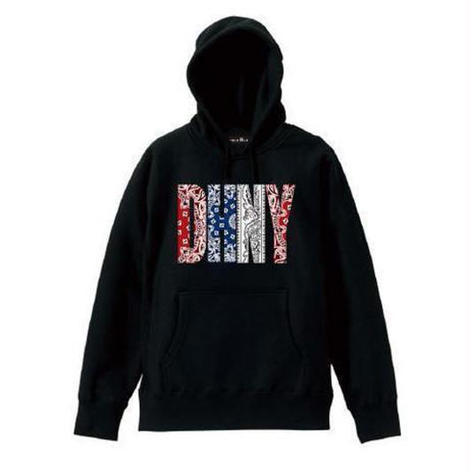 【ラス1】DOUBLE HARD DHNY pullover parka ブラック M