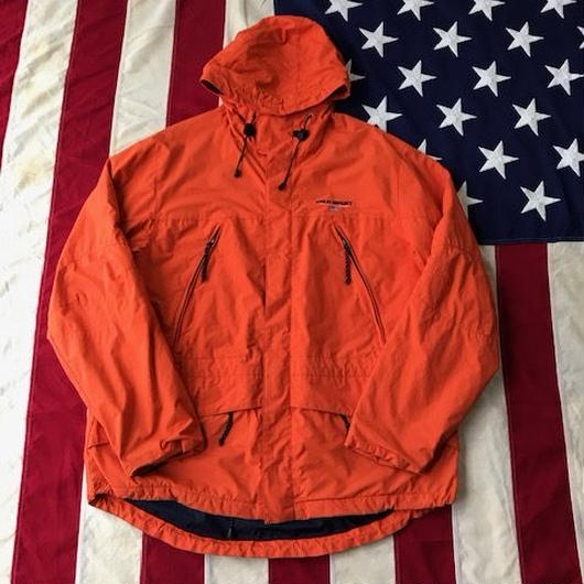 【USED】POLO SPORT mountain parka オレンジ L