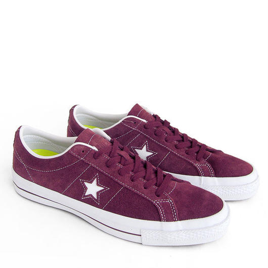 CONVERSE ONE STAR suede パープル