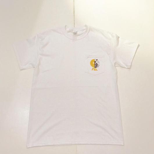 【ラス1】PUZZLE JAC pocket tee ホワイト XL