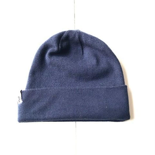 NIKE AIR knit cap ネイビー