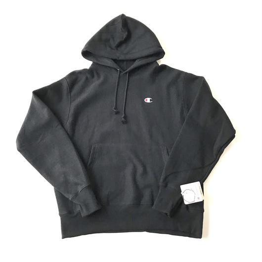 Champion REVERSE WEAVE HEAVYWEIGHT 12oz pullover hoodie ブラック M