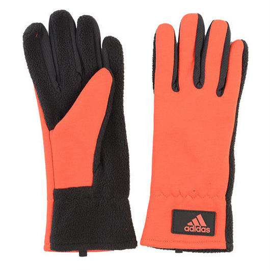 adidas CLMHT gloves オレンジ×ブラック S