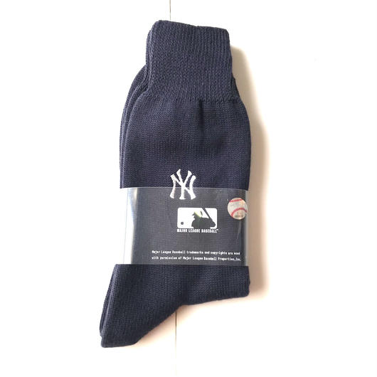 【ラス1】ROSTERSOX×MLB NY YANKEES socks ネイビー