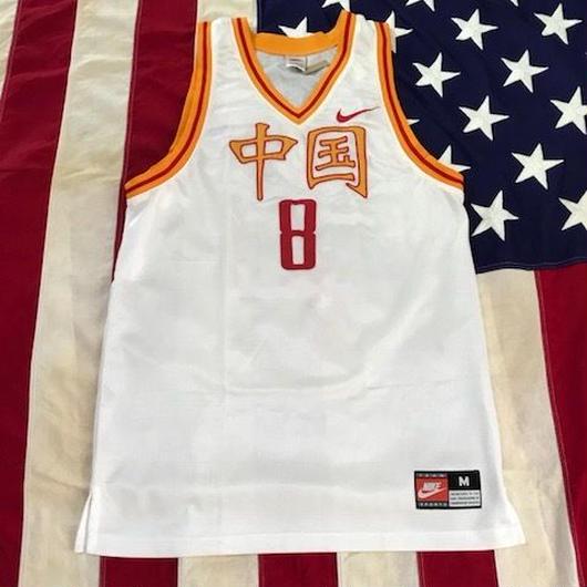 【USED】NIKE 中国 8 jersey ホワイト M