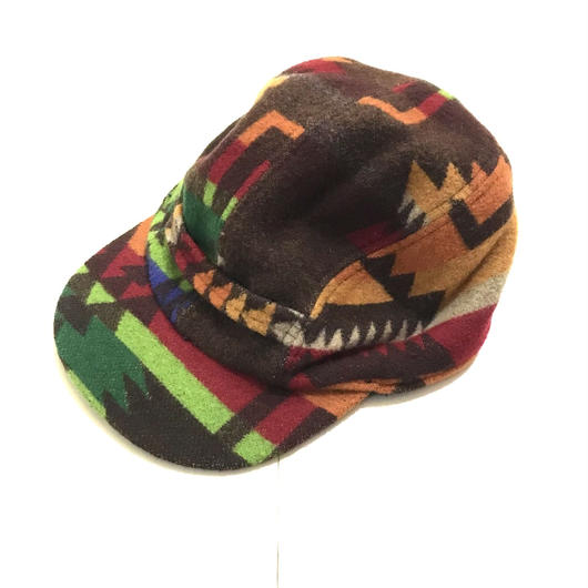 POLO COUNTRY NATIVE wool cap マルチ S/M