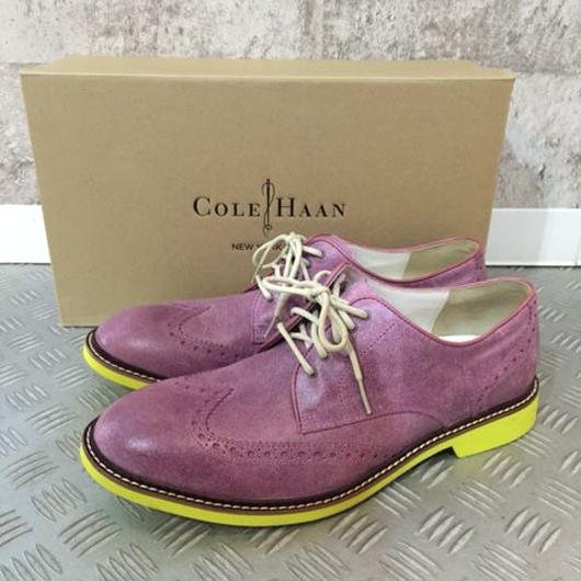 【SALE】COLE HAAN AIR FRANKLIN WING パープル 9.5