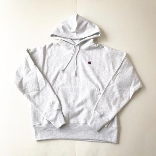 Champion REVERSE WEAVE HEAVYWEIGHT 12oz pullover hoodie シルバーグレー M