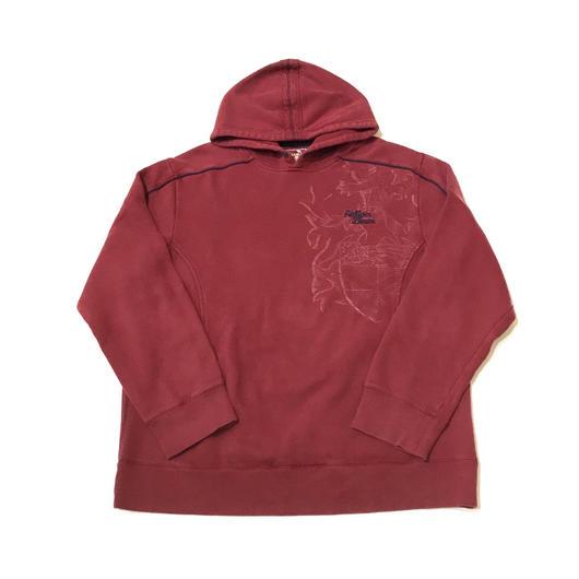 【USED】TOMMY HILFIGER DENIM pullover レッド XL