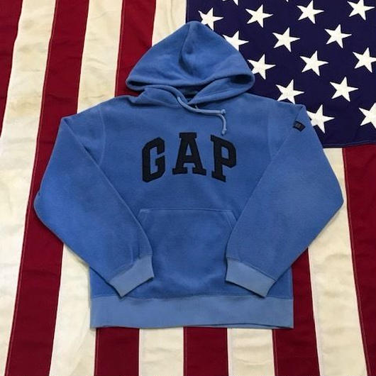 【USED】GAP LOGO FREECE hoodie サックス XS