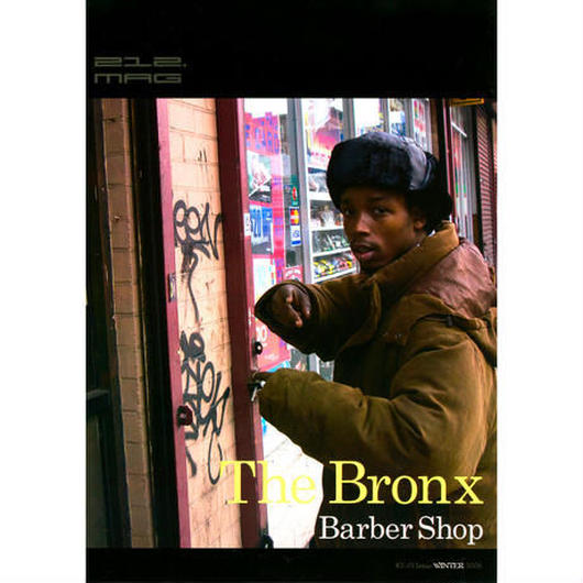 212.mag #13The Bronx Barber Shop