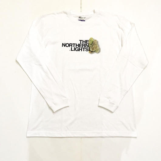 RUGGED THE NORTHERN LIGHTS L/S tee ホワイト XL