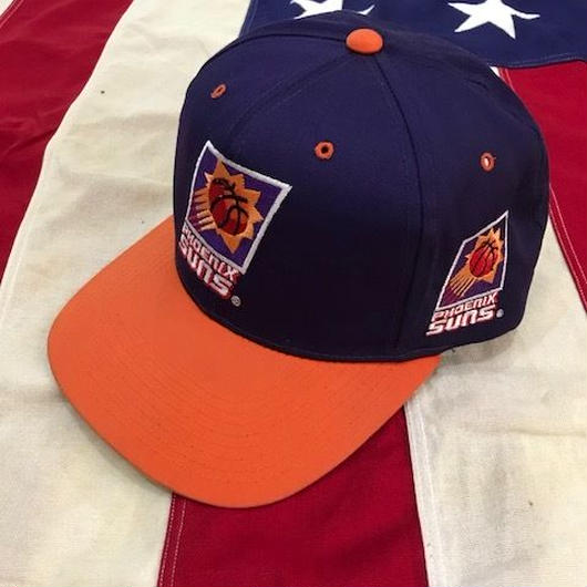 【USED】PHOENIX SUNS snap back パープル×オレンジ