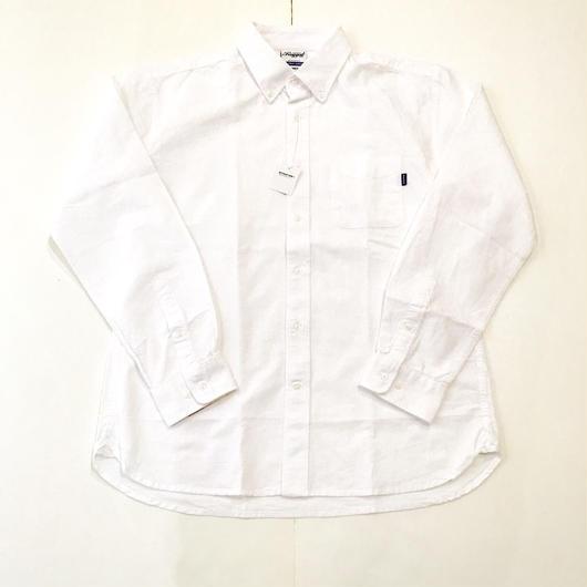 【ラス1】RUGGED B.D oxford shirt ホワイト L