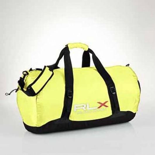 RLX PACKABLE nylon duffel イエロー