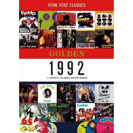 GOLDEN 1992 CLASSIC HIPHOP VIDEOS(DVD)