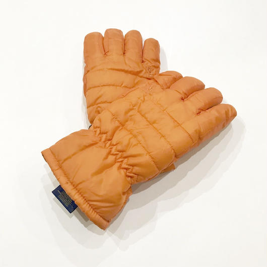 【ラス1】POLO RALPH LAUREN HYBRID PUFFER gloves オレンジ L/XL