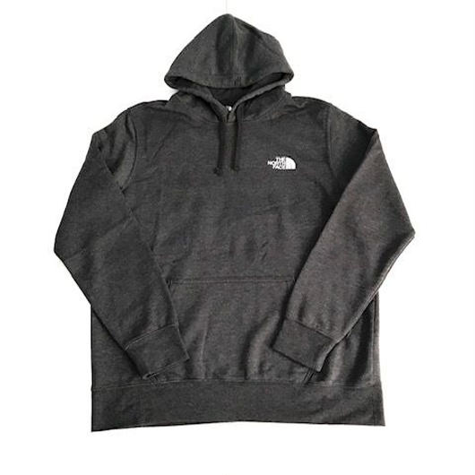 THE NORTH FACE RED BOX hoodie チャコール×ブルー XL
