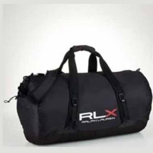 RLX PACKABLE nylon duffel ブラック