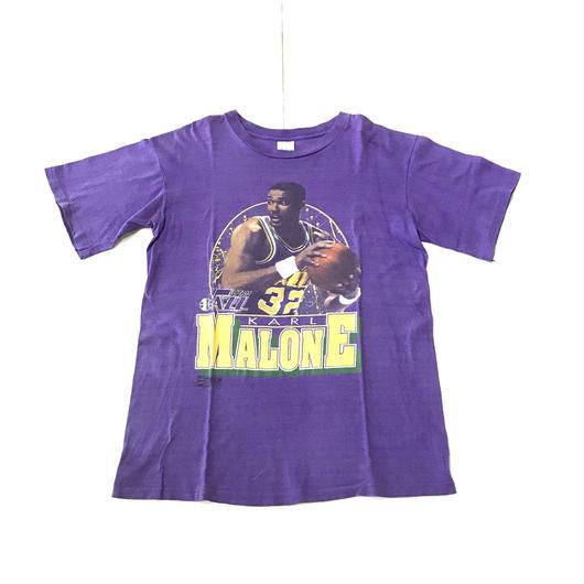 【USED】NBA K.MALONE 1 tee パープル L