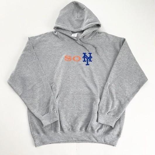 【ラス1】PUZZLE soNY 2 hoodie グレー L