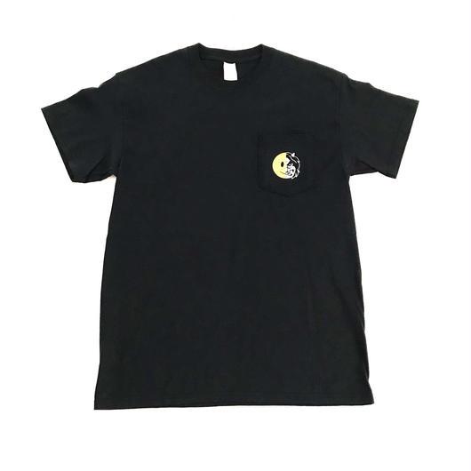 【ラス1】PUZZLE JAC pocket tee ブラック XL