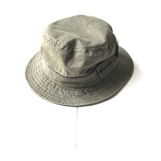 Champion WASHABLE bucket hat オリーブ M