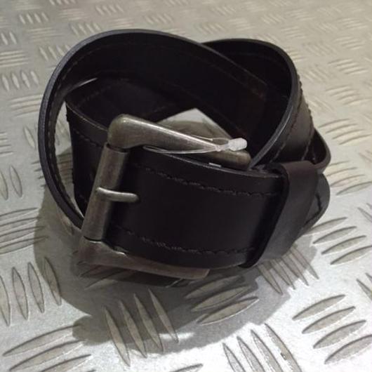 【SALE】J.CREW LEATHER belt ブラウン 30