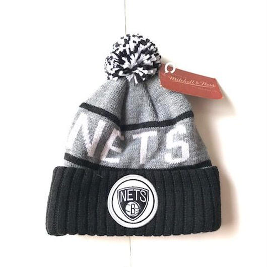 michell&ness NETS CUFFED knit cap ブラック