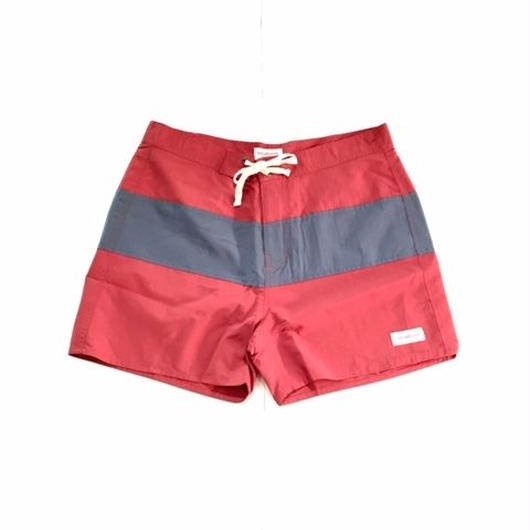 SATURDAYS SURF NYC GRANT TRUNKS レッド×グレー 31
