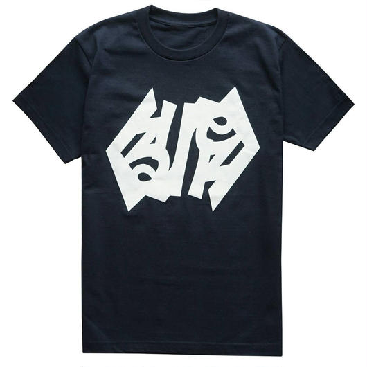 くるりロゴTシャツ(ネイビー)