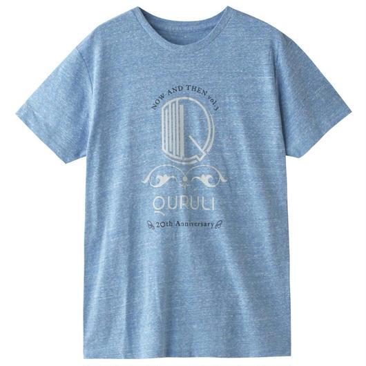 CIDER inc.デザインTシャツ(ヘザーブルー)