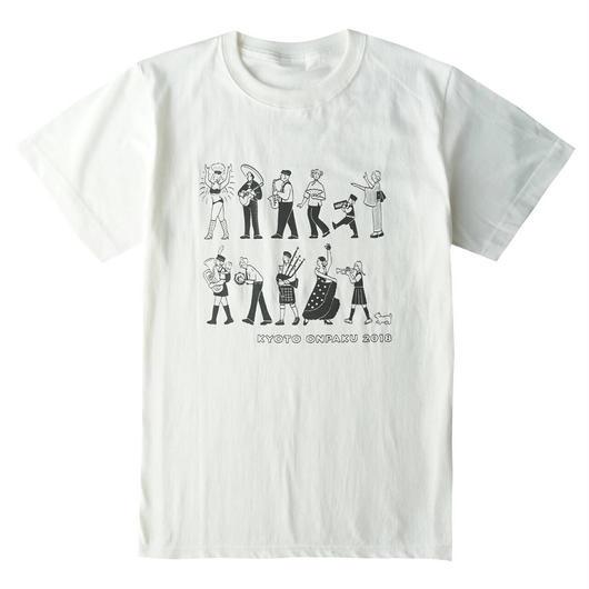 京都音楽博覧会2018オフィシャルTシャツ(オフホワイト)