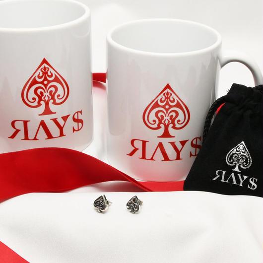 SPADE & SYMBOLピアス【X'MAS特別価格+限定マグカップ付】送料無料・予約販売