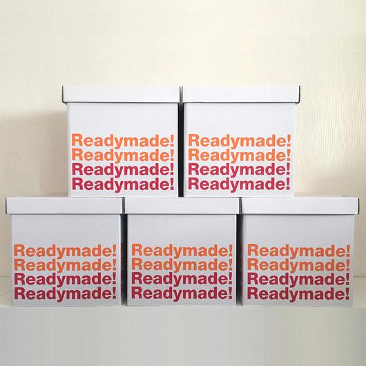 GOODS Readymade! 収納ボックス(LPサイズ)5枚セット