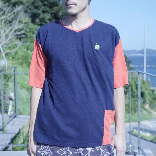 TEPPO T-shirts with Pocket Hemp cotton