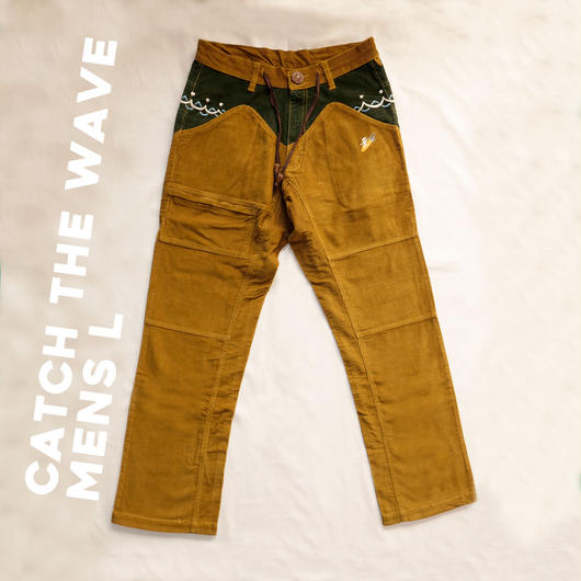 CATCH THE WAVE Corduloy Pants Mens Size