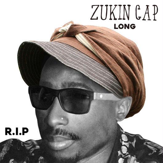 ZUKIN CAP BROWN ユニセックス