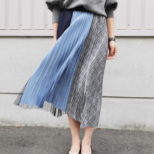【ラスト1点】切り替えプリーツスカート