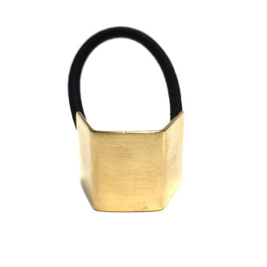 【SALE】真鍮プレートヘアーゴム