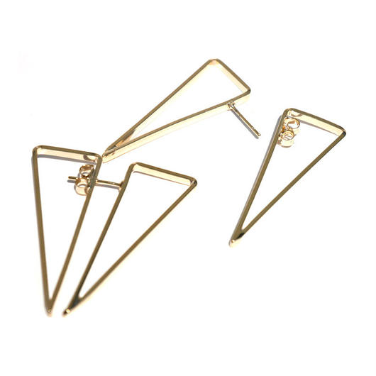 【SALE】Triangleデザインピアス
