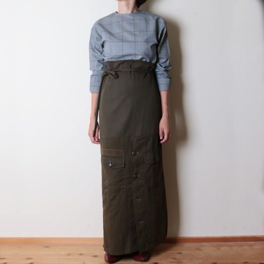【&her】Military Wrap Skirt