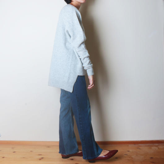 【&her】Comfy Yak Knit /GRAY