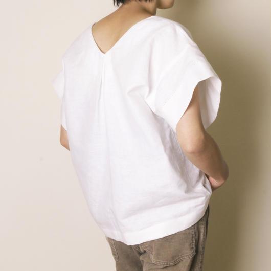 【&her】Cotton Linen Blouse
