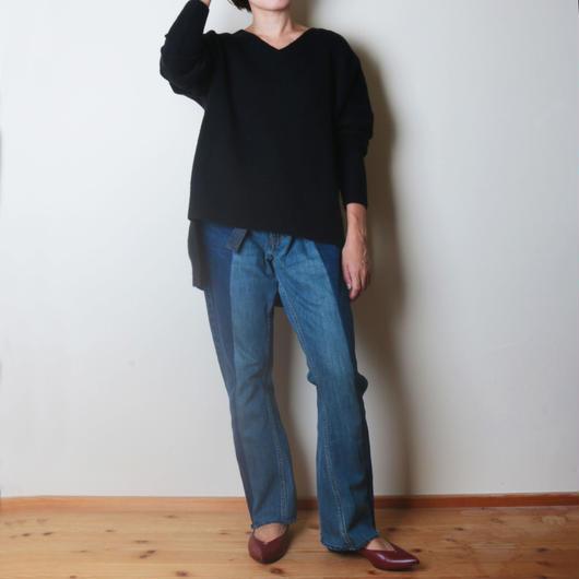【&her】Comfy Yak Knit /BLACK