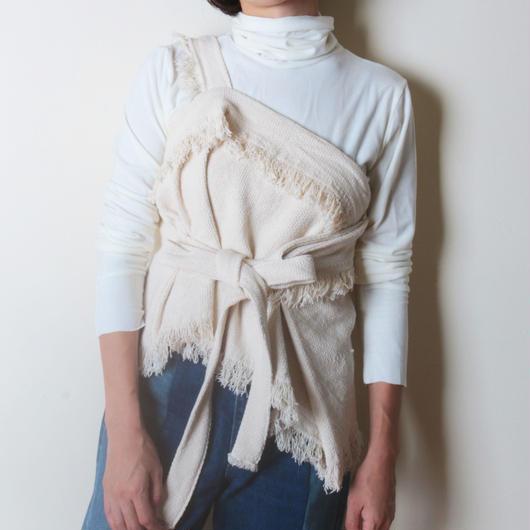 【her】Weave Vest/Ivory