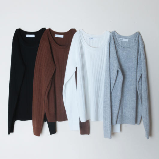 【&her】Knit