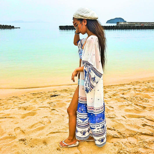 【ladies 】Beach gown
