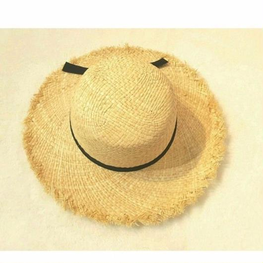 【 Kids】fringe  straw hat