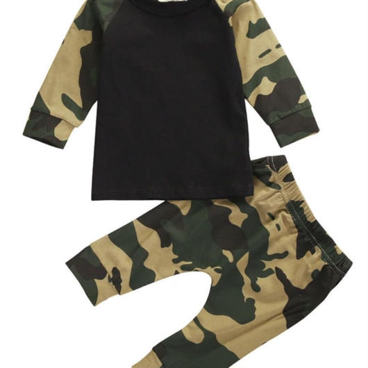 【Kids 】camouflage set-up